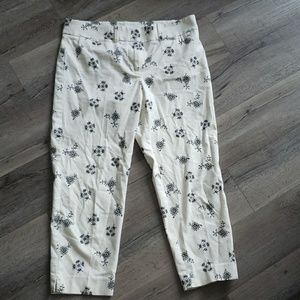 LOFT Marisa Printed Pants